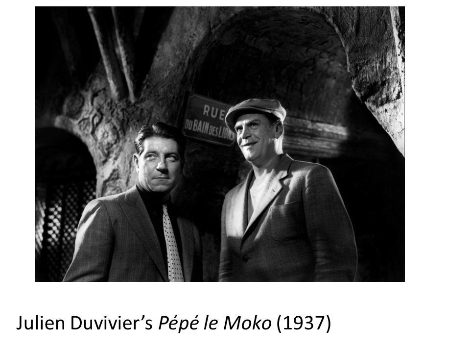 Julien Duvivier's Pépé le Moko (1937)
