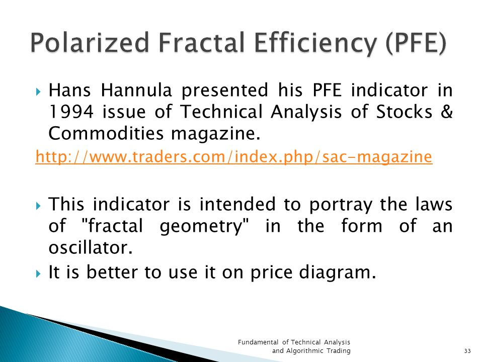 Polarized Fractal Efficiency (PFE)