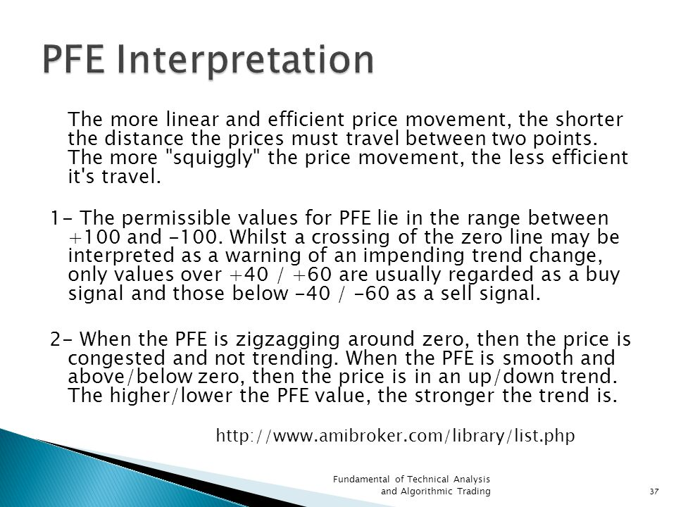 PFE Interpretation