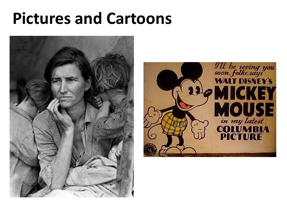 Pictures and Cartoons