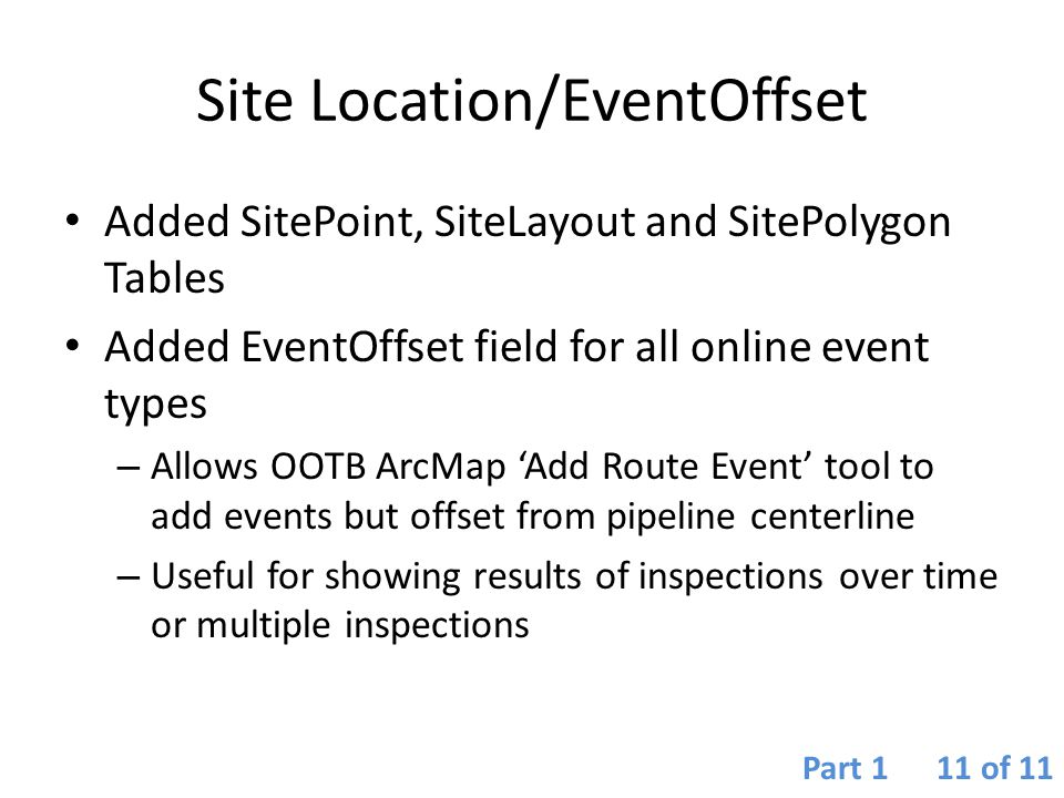 Site Location/EventOffset