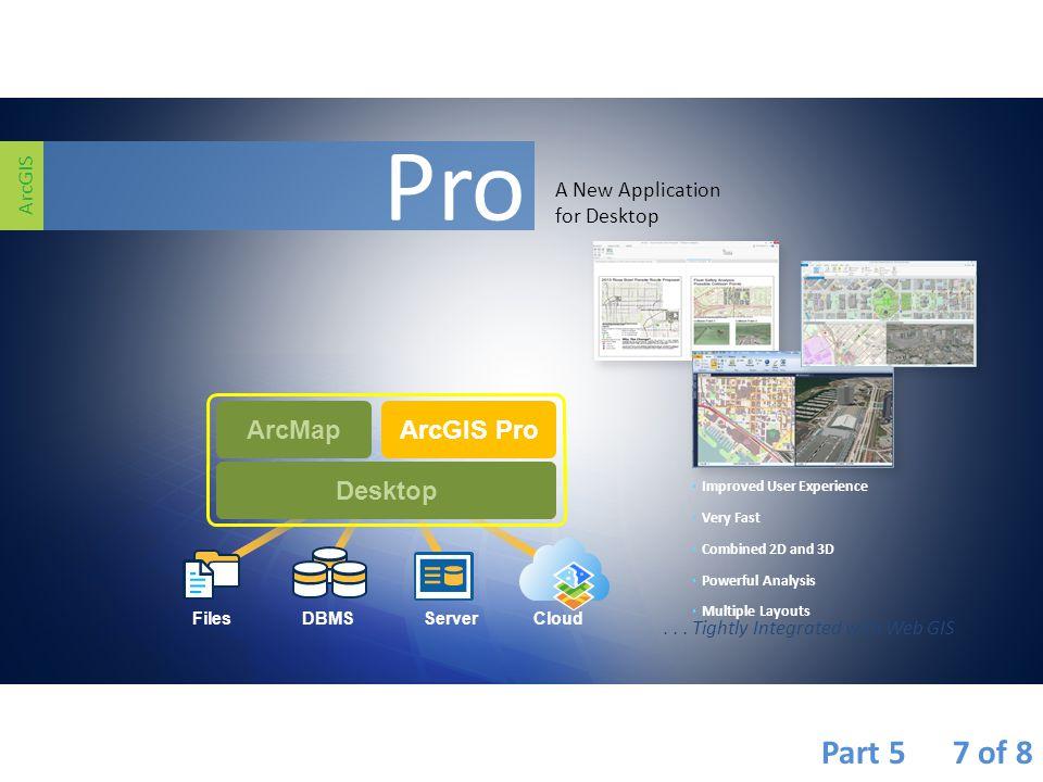 Pro Part 5 7 of 8 ArcMap ArcGIS Pro Desktop Desktop