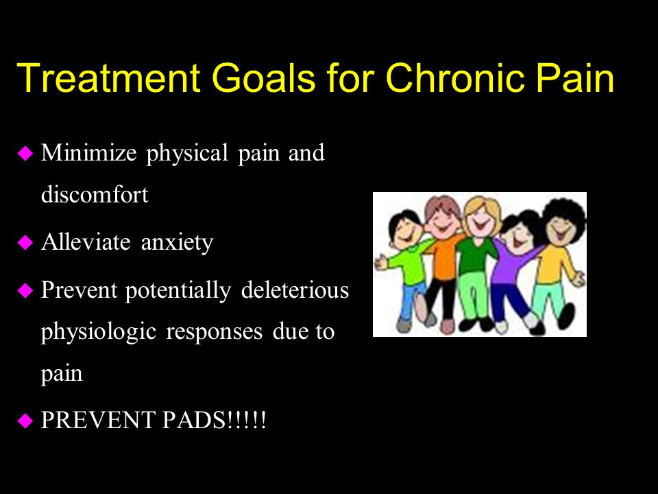 Treatment Goals for Chronic Pain