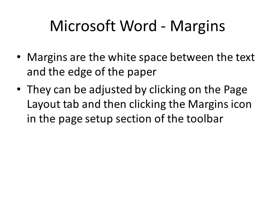 Microsoft Word - Margins
