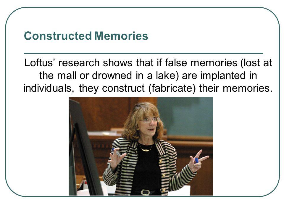 Constructed Memories
