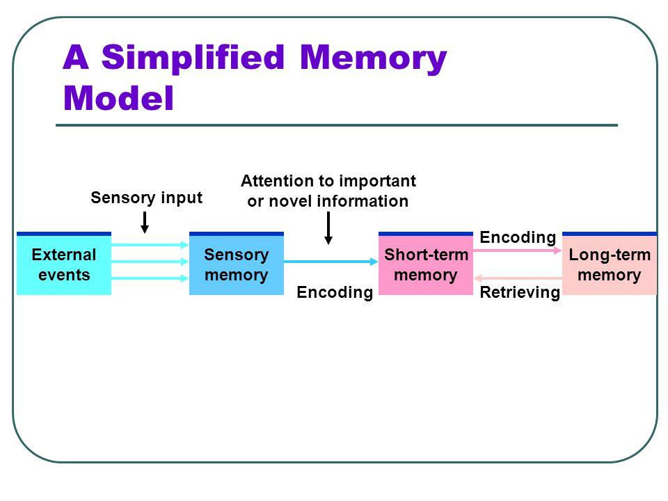 A Simplified Memory Model
