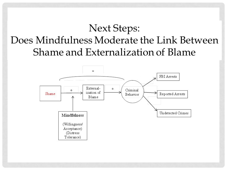 Does Mindfulness Moderate the Link Between