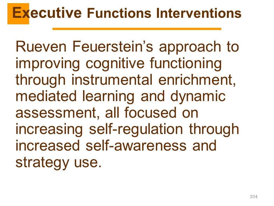 Executive Functions Interventions