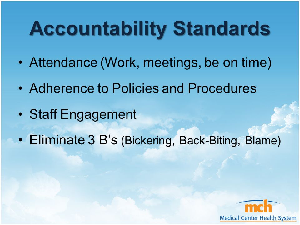 Accountability Standards