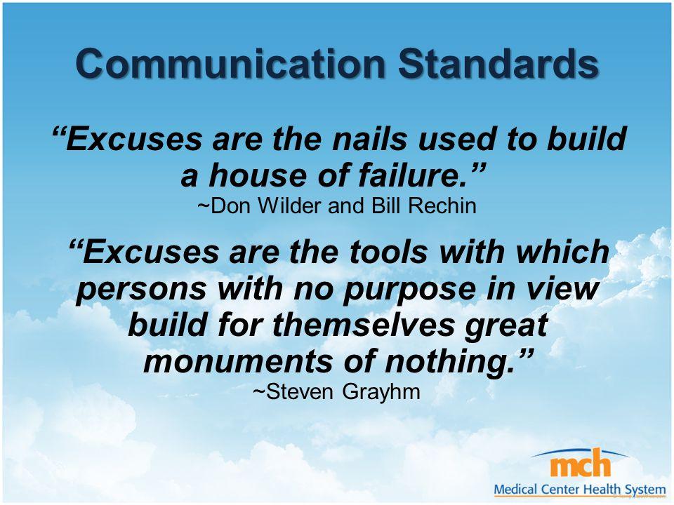 Communication Standards