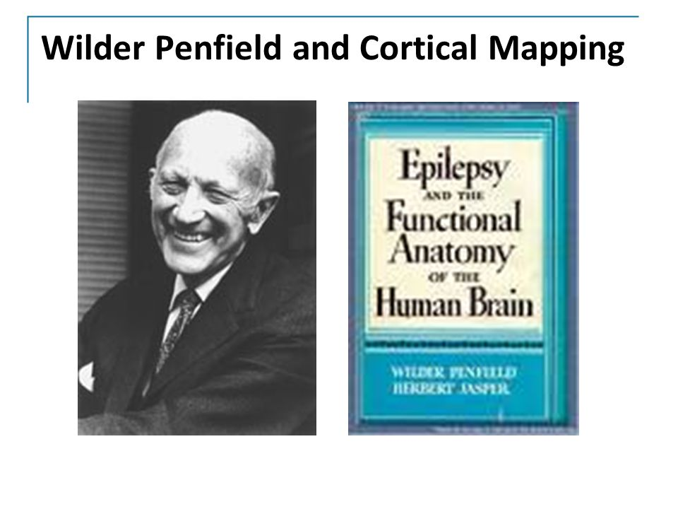 Wilder Penfield and Cortical Mapping
