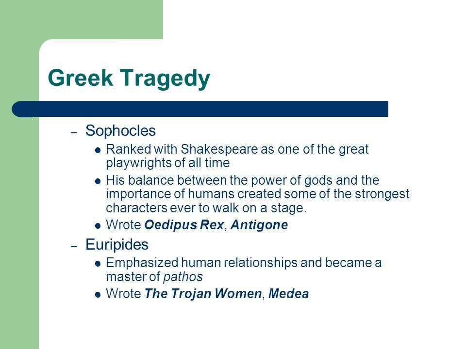 Greek Tragedy Sophocles Euripides