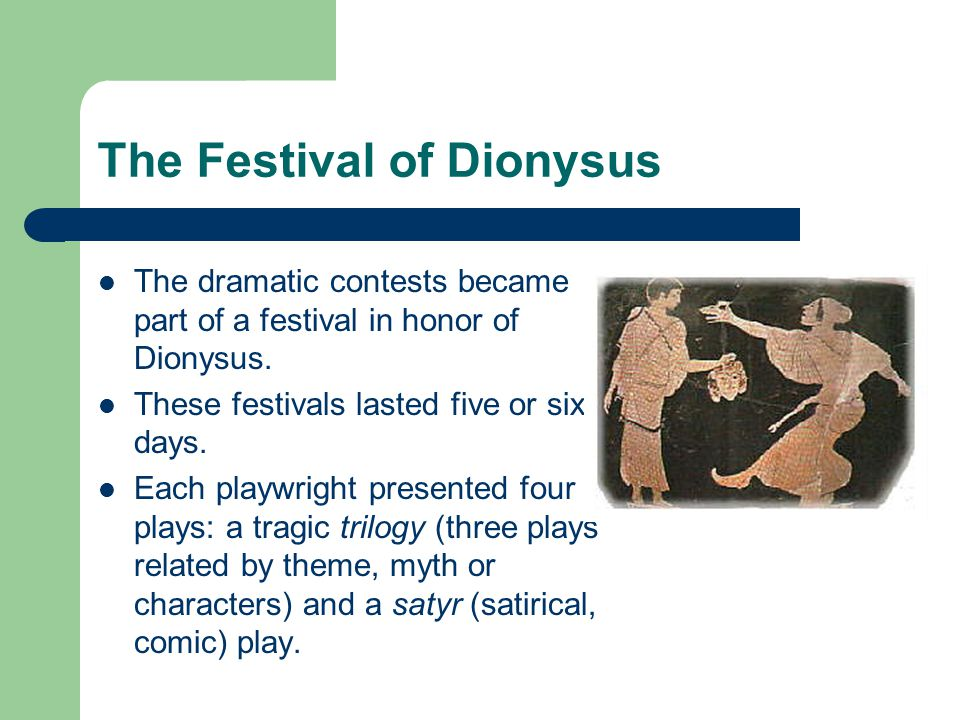 The Festival of Dionysus