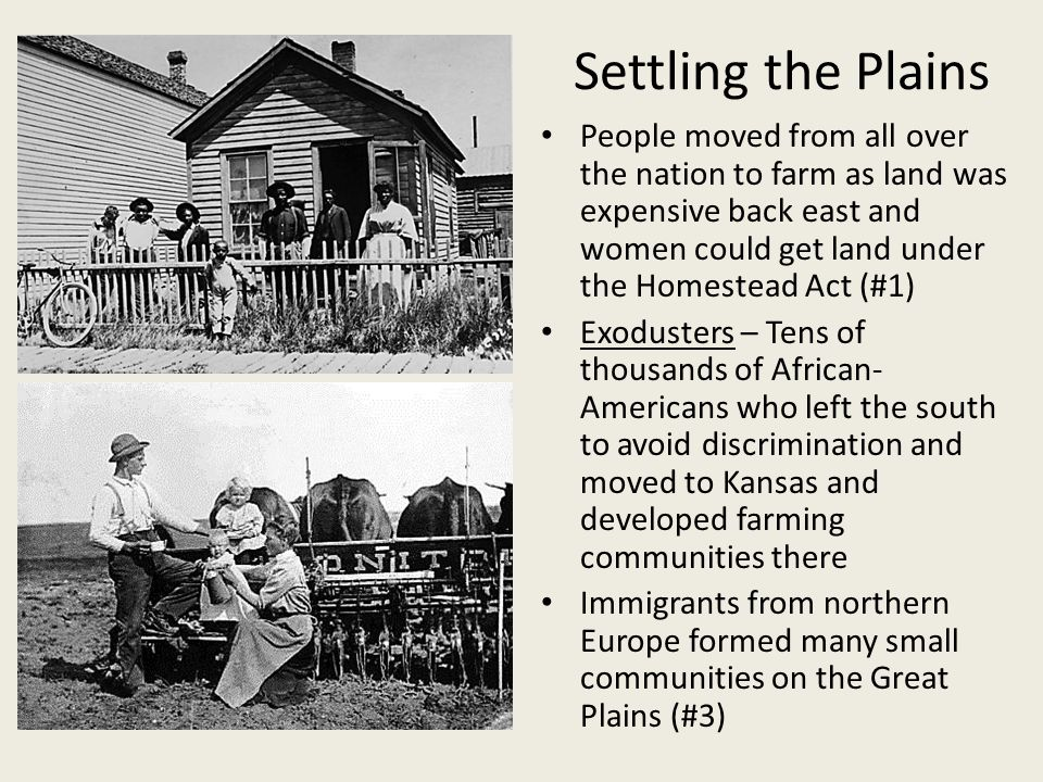 Modern us history ch 18 section 3 farming and populism for Is there any homestead land left in america