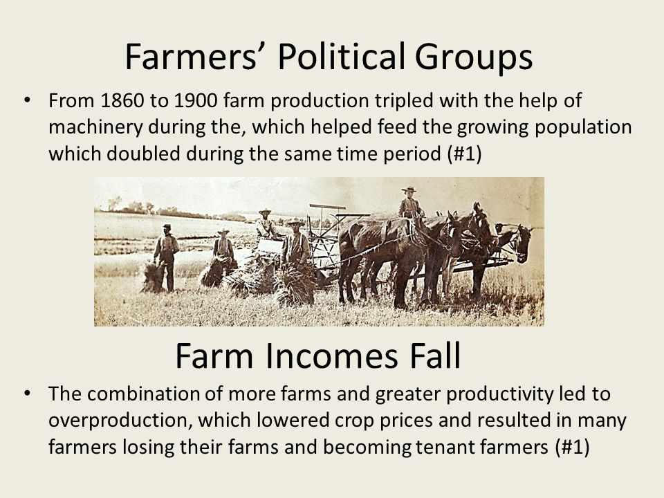 Farmers' Political Groups
