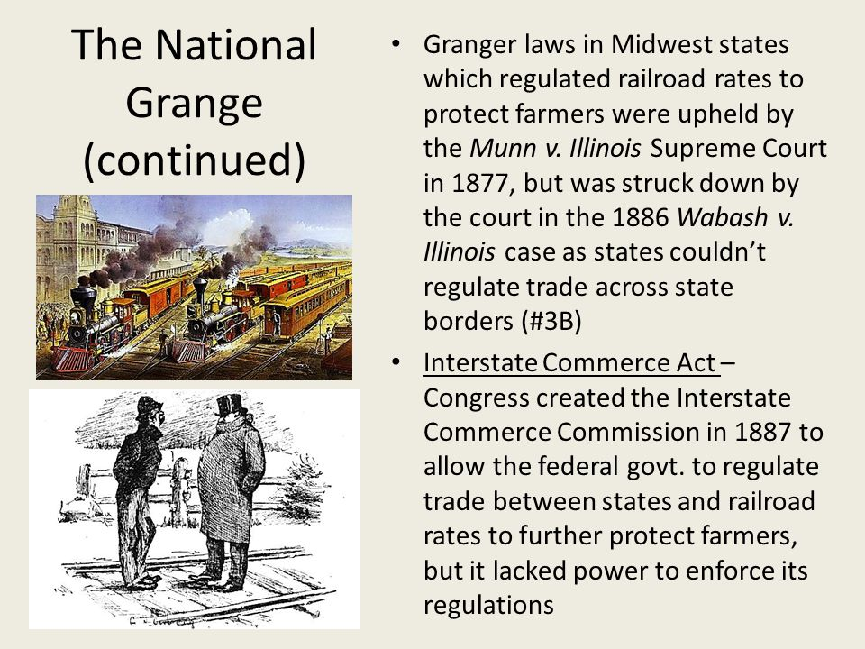 The National Grange (continued)