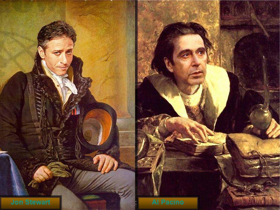 Jon Stewart Al Pacino