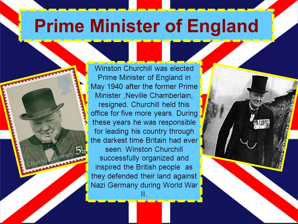 Prime Minister of England