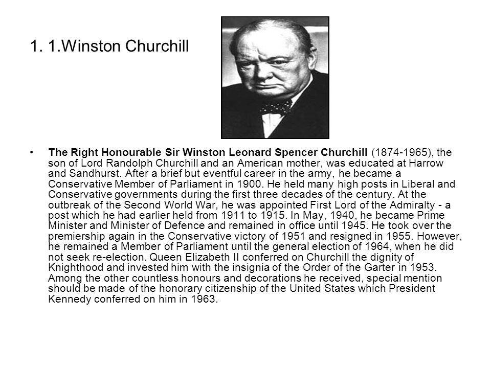 1. 1.Winston Churchill
