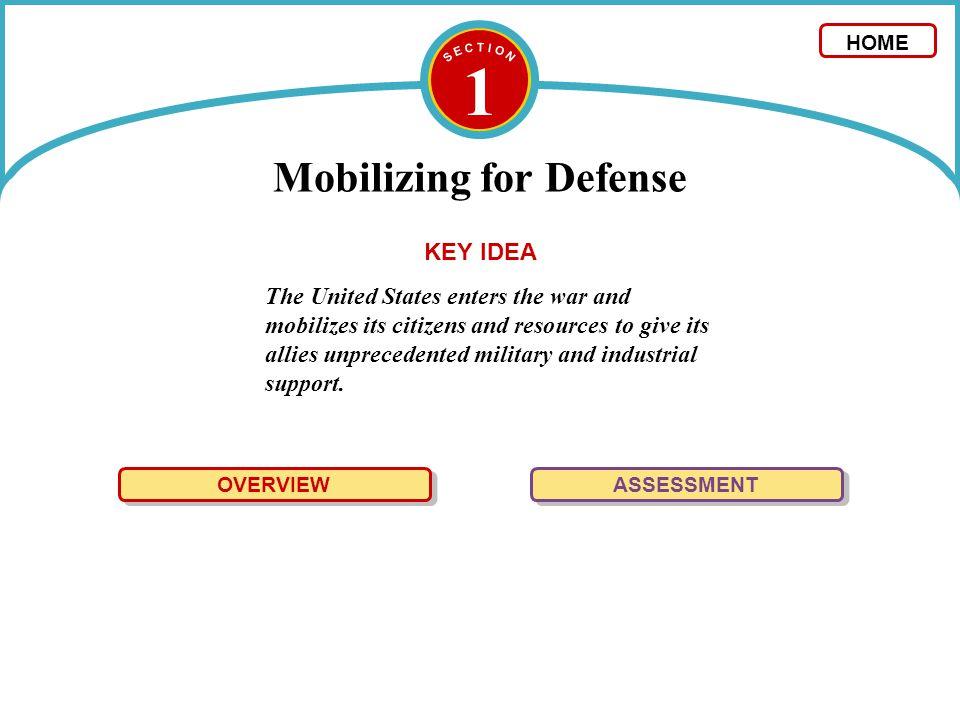 Mobilizing for Defense