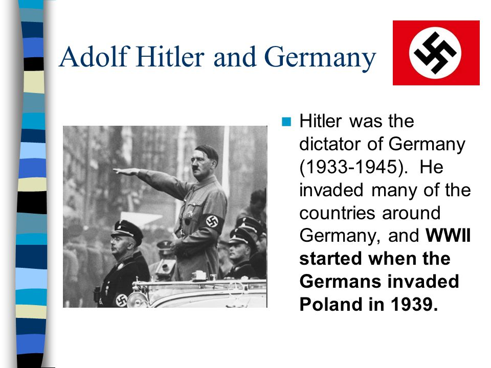 Adolf Hitler and Germany
