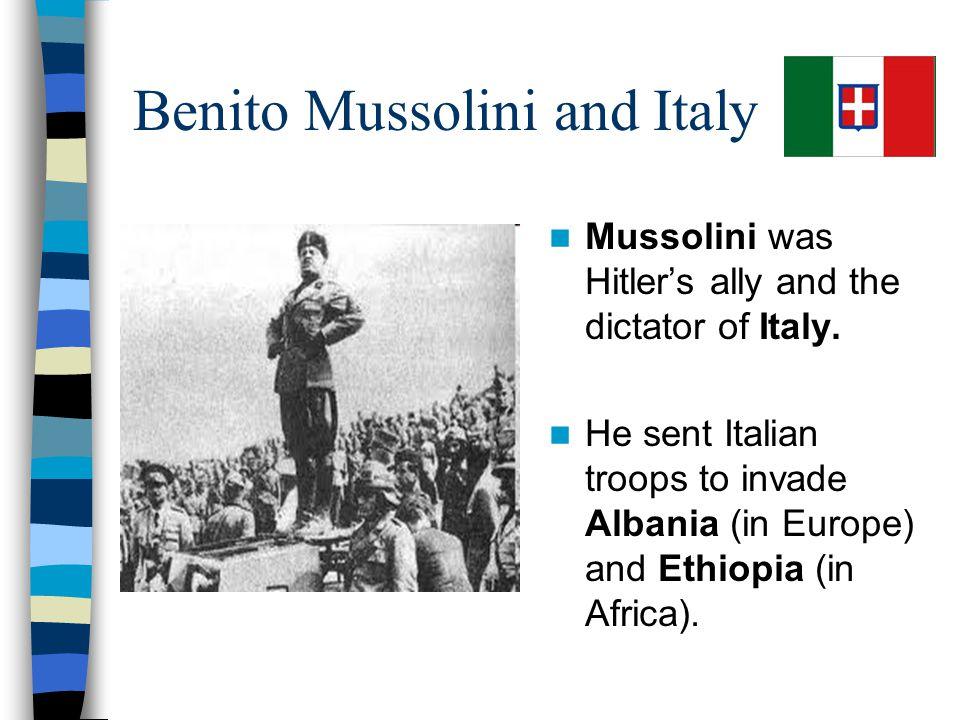 Benito Mussolini and Italy