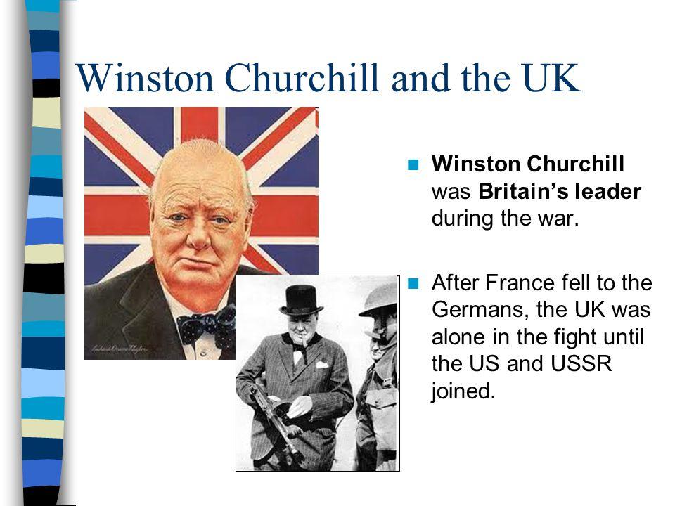 Winston Churchill and the UK