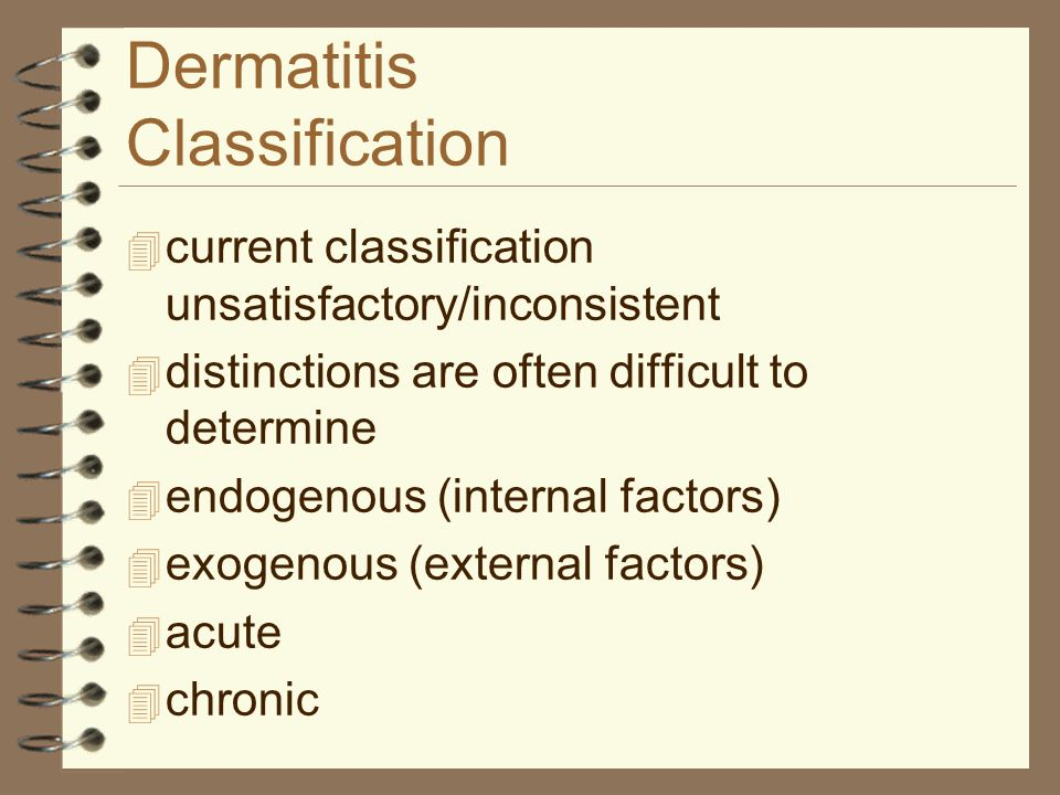 Dermatitis Classification