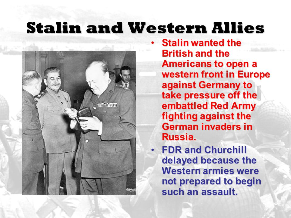 Stalin and Western Allies