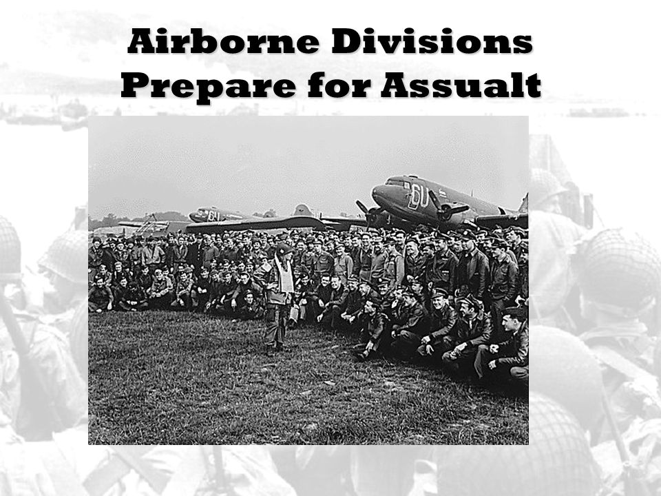 Airborne Divisions Prepare for Assualt