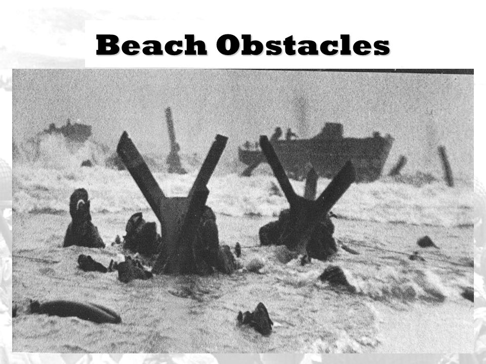 Beach Obstacles
