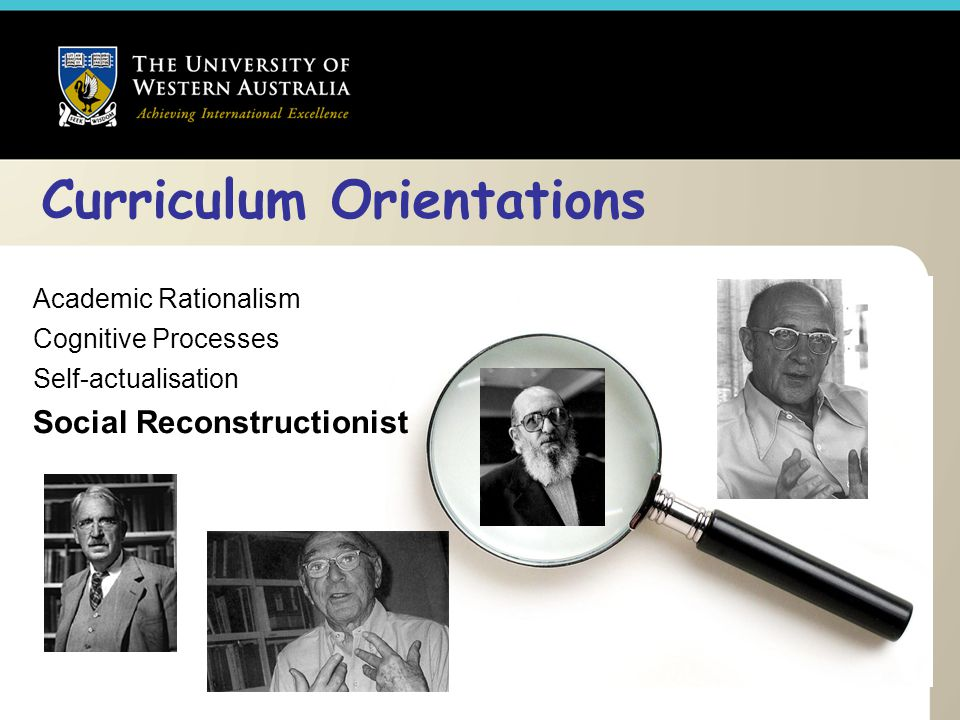 Curriculum Orientations