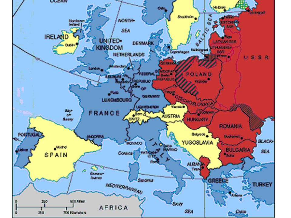 Division of Europe