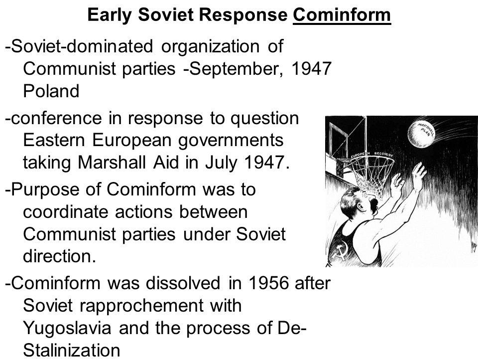 Early Soviet Response Cominform