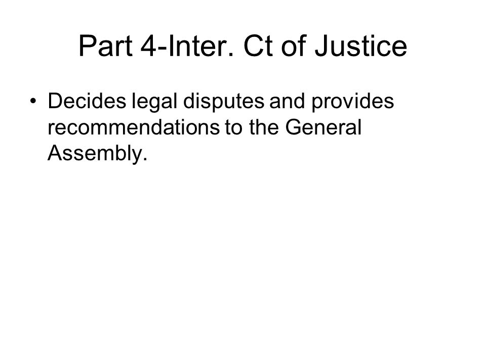 Part 4-Inter. Ct of Justice