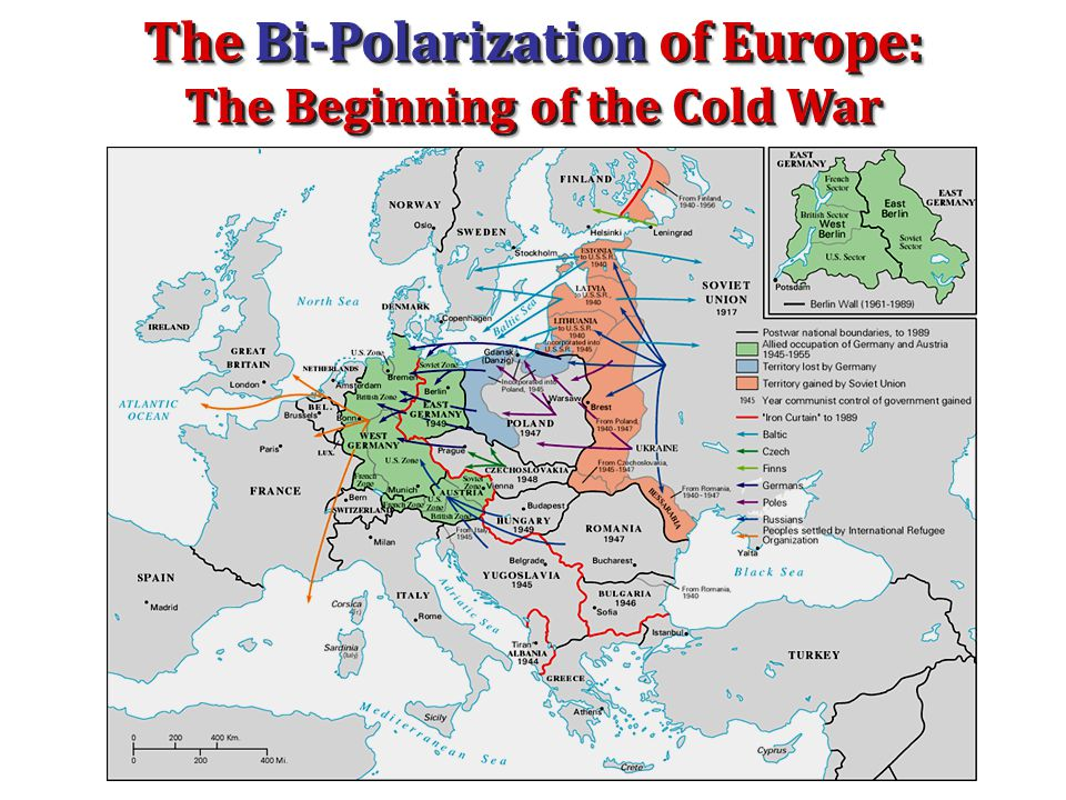 The Bi-Polarization of Europe: The Beginning of the Cold War