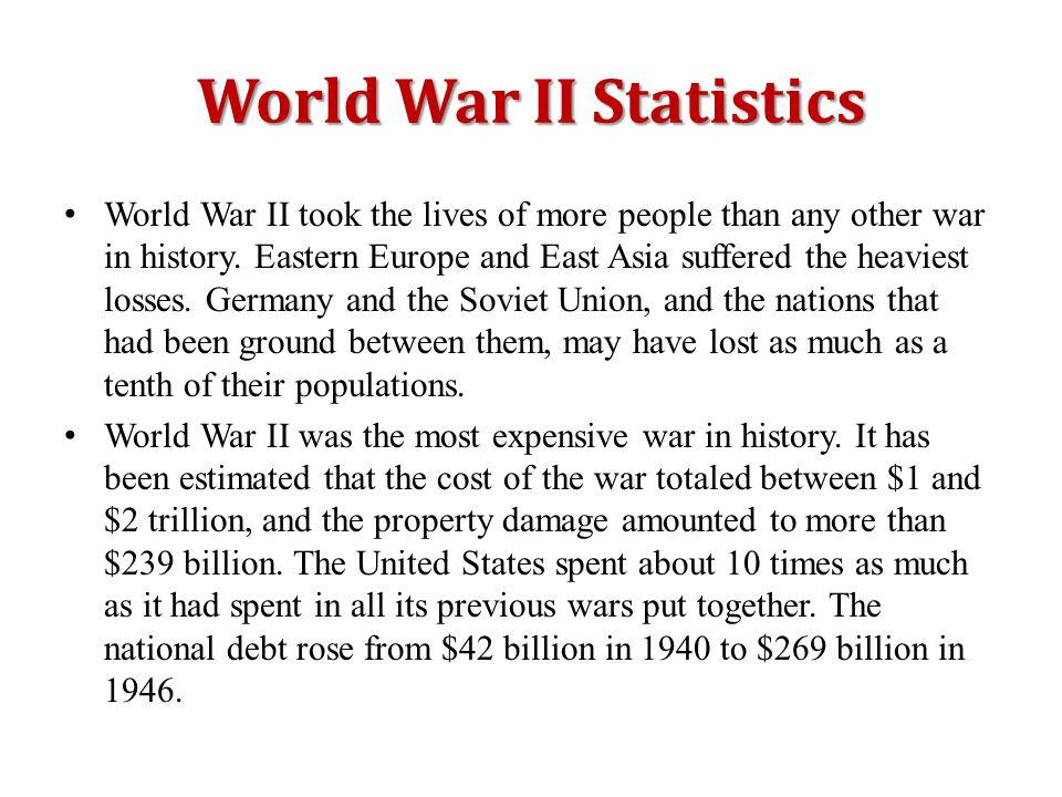 World War II Statistics