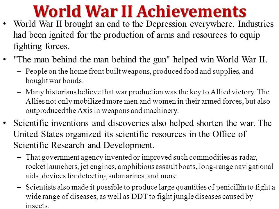 World War II Achievements
