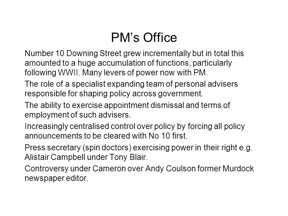 PM's Office