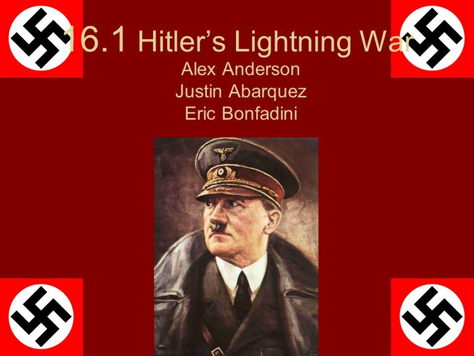 16.1 Hitler's Lightning War