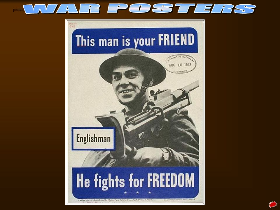 posters WAR POSTERS