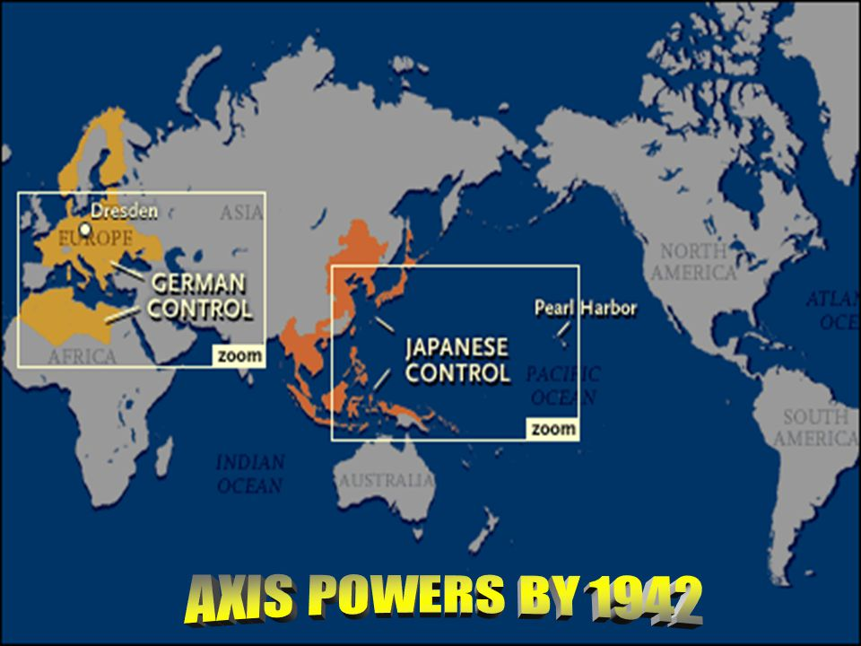 AXIS POWERS BY 1942