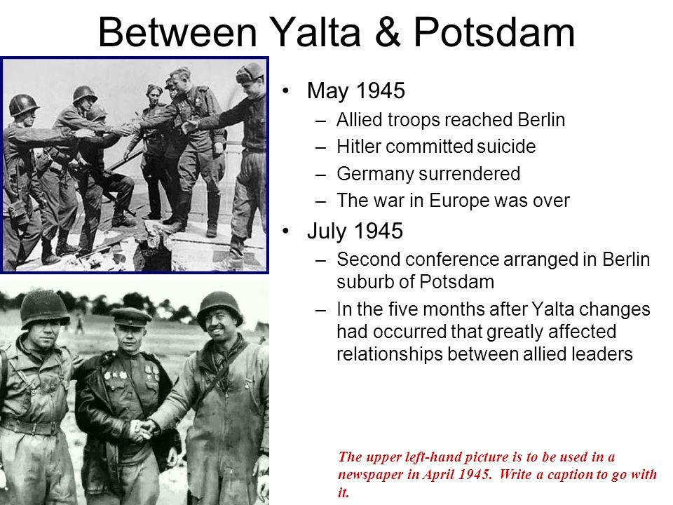 Between Yalta & Potsdam