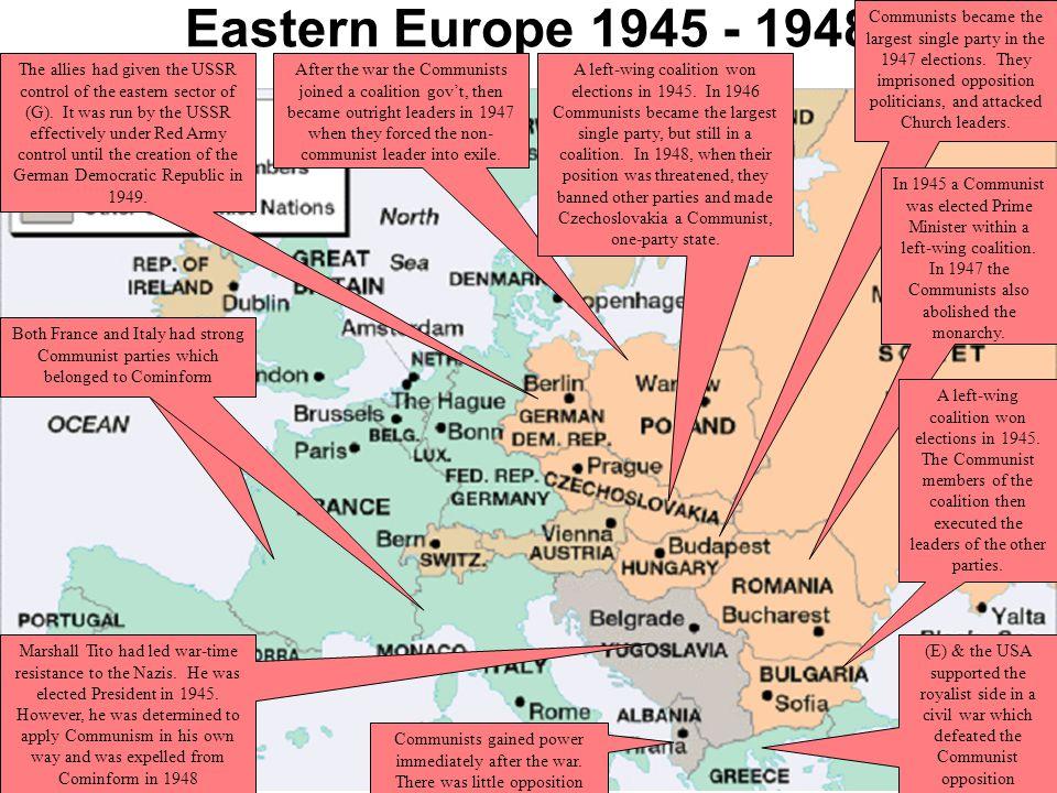 Eastern Europe 1945 - 1948