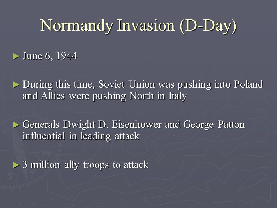 Normandy Invasion (D-Day)