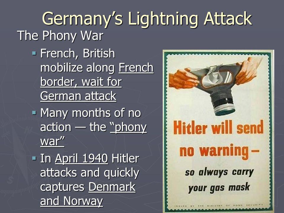 Germany's Lightning Attack