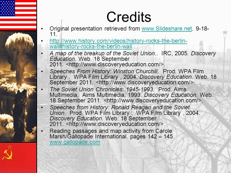 Credits Original presentation retrieved from www.Slideshare.net. 9-18-11.