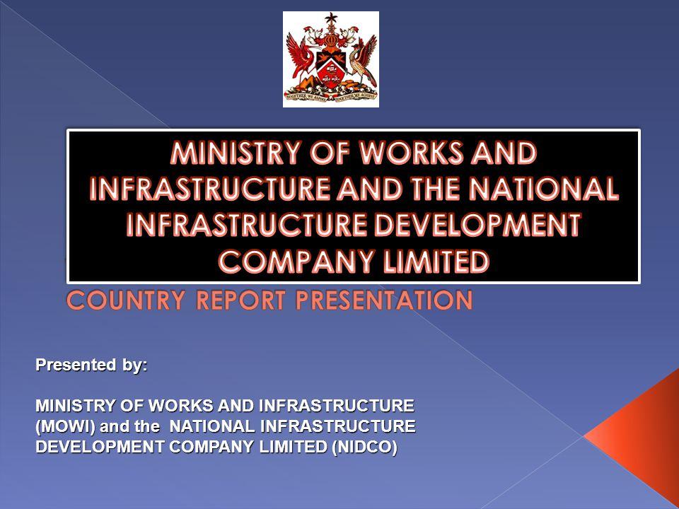 TRINIDAD AND TOBAGO COUNTRY REPORT PRESENTATION