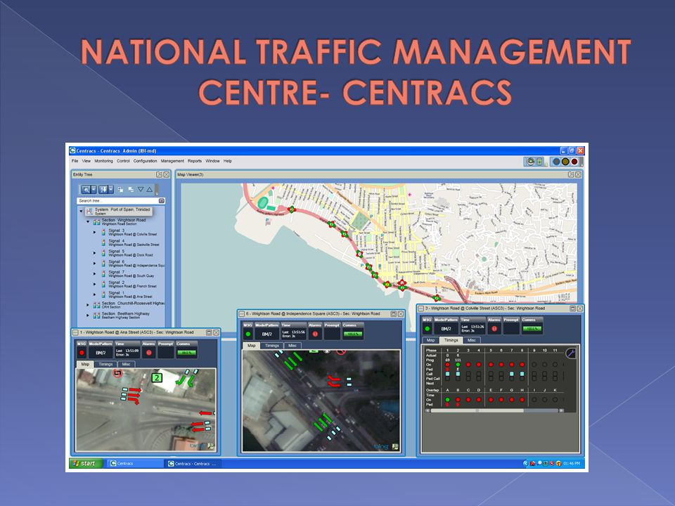 NATIONAL TRAFFIC MANAGEMENT CENTRE- CENTRACS