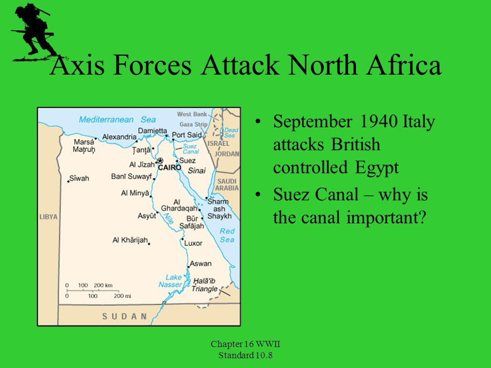Axis Forces Attack North Africa